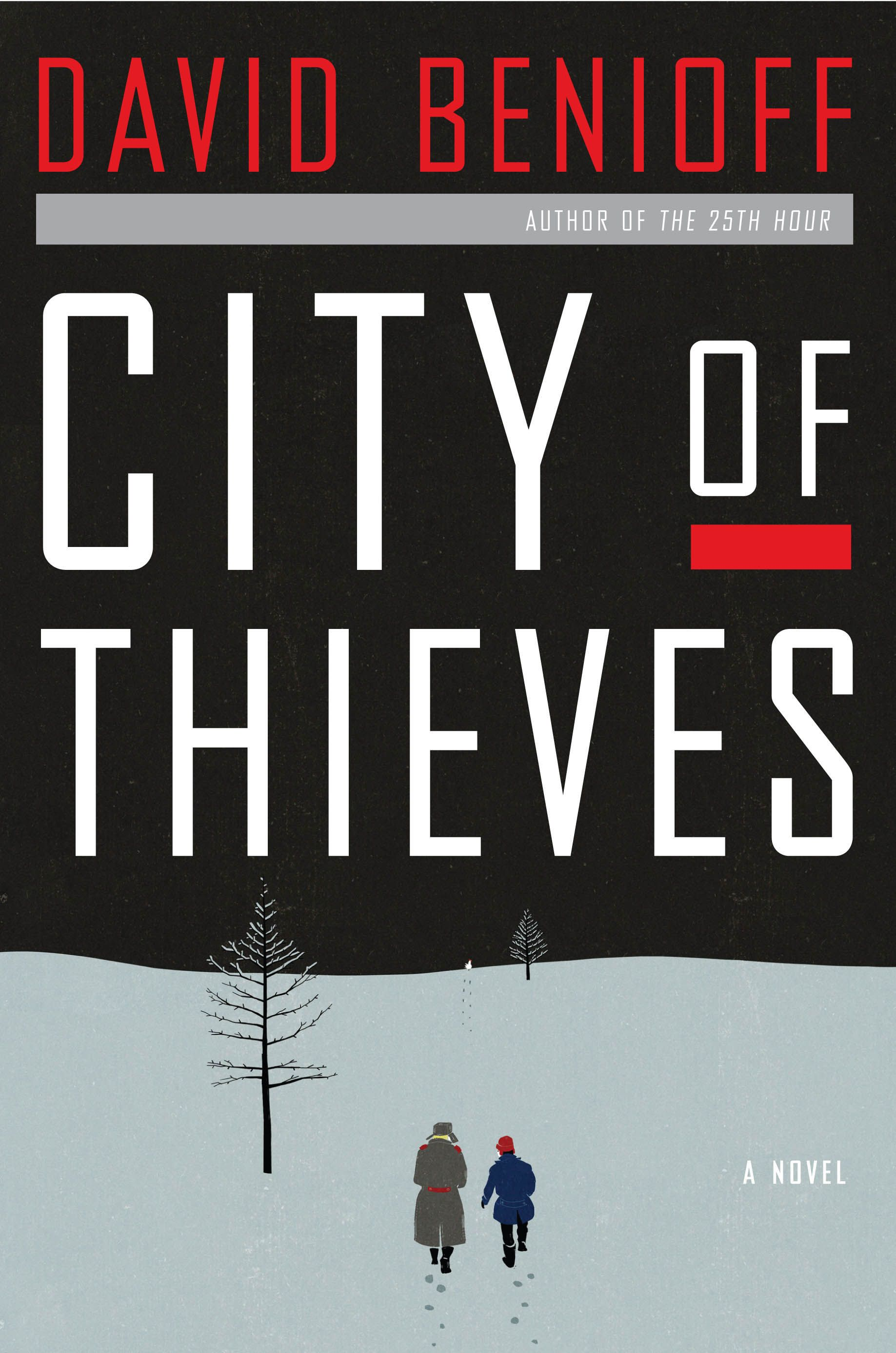 City of Thieves Book Cover