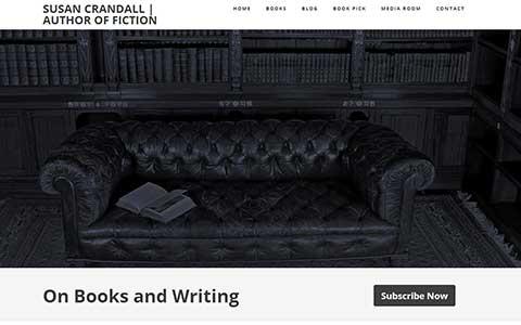 New Susan Crandall Author Website