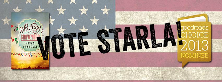 Vote Starla Banner
